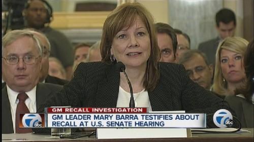 Las Mentiras y el Testimonio de Mary Barra enfrente del Congreso del Estados Unidos